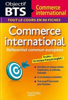 Livres Couvertures de Objectif BTS Commerce international
