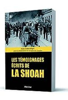 Livres Couvertures de Les témoignages écrits de la Shoah