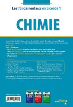 Livres Couvertures de Chimie - Tout pour réussir en L1