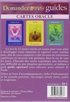 Livres Couvertures de Demandez à vos guides : Cartes oracle