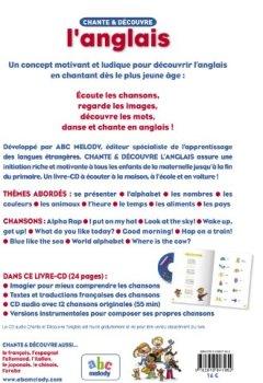 Livres Couvertures de CHANTE ET DECOUVRE L'ANGLAIS (Nouvelle édition)