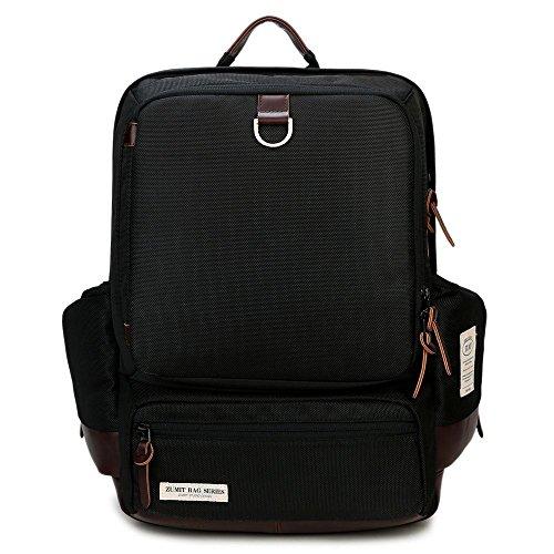 ZUMIT-Laptop-Rucksack-Business-Backpack-School-Shoulders-Bag-With-YKK-Zipper-Black-802