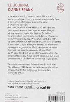 Livres Couvertures de Le Journal d'Anne Frank