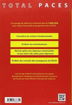 Livres Couvertures de Total PACES en QCM Tout le Programme de la 1re Année L'Intégrale des Révisions pour le Concours 3000 QCM Corrigés et Commentés