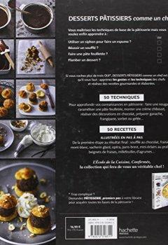 Livres Couvertures de Desserts pâtissiers comme un chef