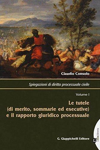 Spiegazioni di diritto processuale civile: 1