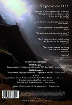 Livres Couvertures de EAT LIVE - Un Fauve dans La Jungle Alimentaire - COFFRET COLLECTOR DOUBLE DVD