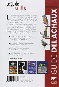 Livres Couvertures de Guide ornitho