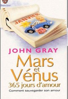 Livres Couvertures de Mars et Vénus : 365 jours d'amour