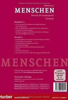 Livres Couvertures de Menschen Sechsbandige Ausgabe: Kursbuch A1/1 MIT DVD-Rom