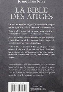 Livres Couvertures de La bible des anges : Ecrits inspirés par les Anges de la Lumière