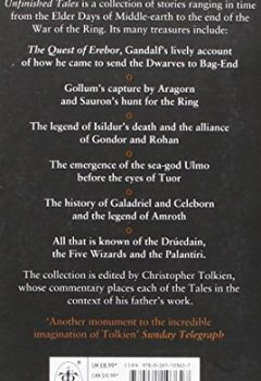Livres Couvertures de Unfinished tales of Númenor and Middle-earth