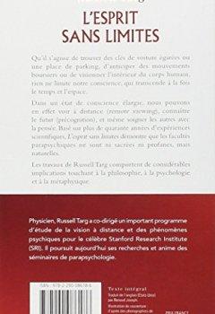 Livres Couvertures de L'esprit sans limites : La physique des miracles : manuel de vision à distance et de transformation de la conscience