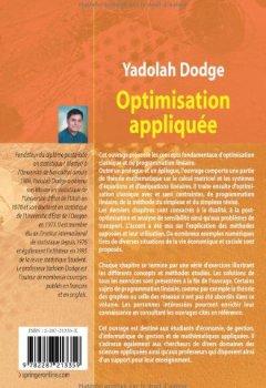 Livres Couvertures de Optimisation appliquée