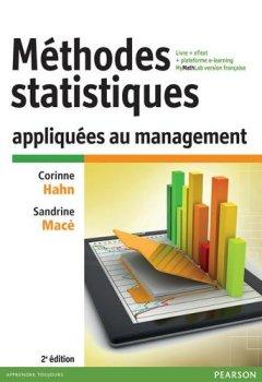Livres Couvertures de Méthodes statistiques appliquées au management 2e édition : Livre + eText + plateforme e-learning MyMathLab version française