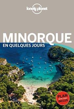 Livres Couvertures de Minorque En quelques jours - 1ed