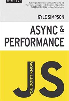 Livres Couvertures de You Don't Know JS: Async & Performance