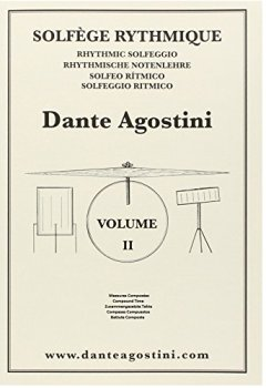 Livres Couvertures de Agostini : solfege rythmique 2