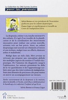 Livres Couvertures de Mon cerveau ne m'écoute pas : Comprendre et aider l'enfant dyspraxique