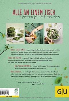 Abdeckungen Veggie for Family: Fleischlos glücklich: abwechslungsreiche Jeden-Tag-Rezepte (GU Familienküche)
