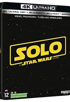 Livres Couvertures de Solo : a Star Wars story - steelbook 4K + 2D + bonus [Blu-ray]