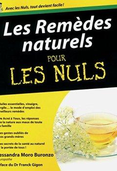 Livres Couvertures de Remèdes naturels pour les Nuls