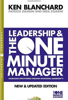 Livres Couvertures de Leadership and the One Minute Manager