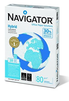 Livres Couvertures de Navigator 285846 - Papier pour les photocopieuses A4 80G - paquet de 500 feuilles