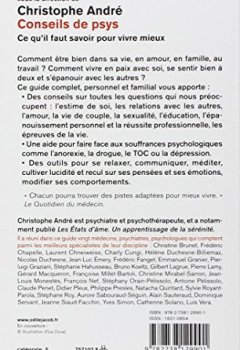 Livres Couvertures de Conseils de psys: Ce qu'il faut savoir pour vivre mieux