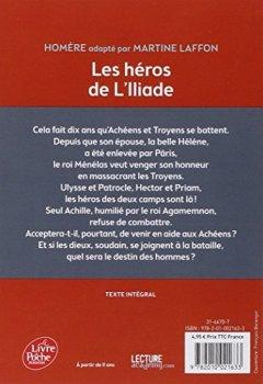 Livres Couvertures de Les héros de l'Iliade - Texte intégral