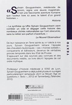 Livres Couvertures de Les chevaliers teutoniques
