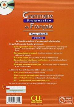 Livres Couvertures de Grammaire progressive du Français : Niveau débutant, avec 440 exercices (1Cédérom)
