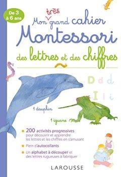 Livres Couvertures de Mon très grand cahier Montessori