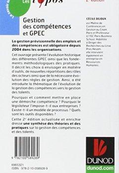Livres Couvertures de Gestion des compétences et GPEC - 2ème édition