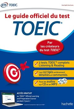 Livres Couvertures de TOEIC® : Le guide officiel du test