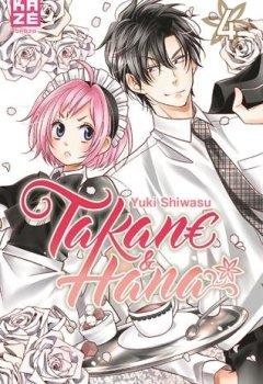 Livres Couvertures de Takane & Hana, Tome 4 :