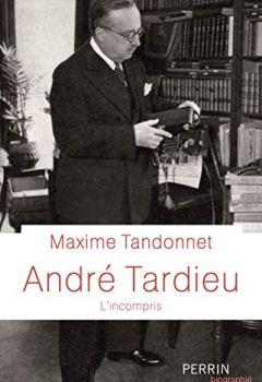 Livres Couvertures de André Tardieu