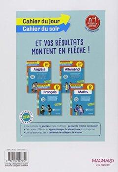 Livres Couvertures de Mon cahier de français 6e
