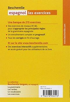 Livres Couvertures de Bescherelle espagnol : Les exercices