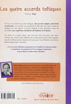 Livres Couvertures de Petit cahier d'exercices des quatre accords toltèques