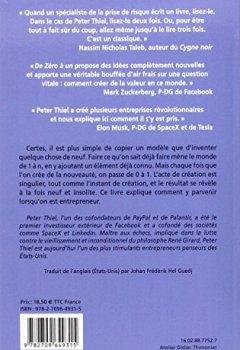 Livres Couvertures de De zéro à un