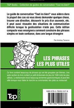 Livres Couvertures de Guide de conversation Français-Portugais et dictionnaire concis de 1500 mots