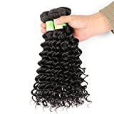 Fani Beauty Grade 8A Brazilian Virgin Hair Extensions Deep Weave 100% Unprocessed Natural Color High Quality Real Human Hair Weave Boundles 30 30 30