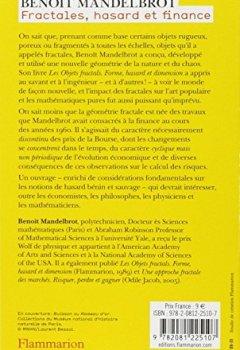 Livres Couvertures de Fractales, hasard et finance
