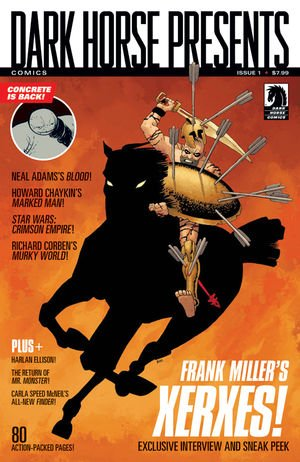 Dark Horse Presents #1 (Miller Cover)