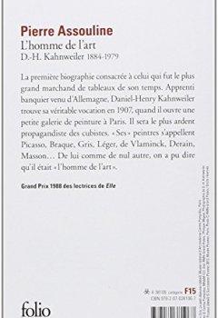 Livres Couvertures de L'Homme de l'art : D.-H. Kahnweiler, 1884-1979