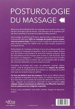 Livres Couvertures de Posturologie du massage - Comment masser sans se blesser ni se fatiguer