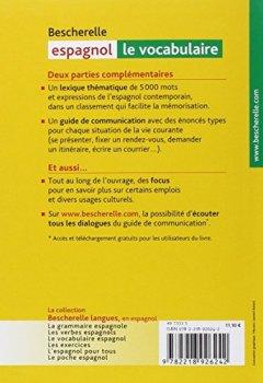 Livres Couvertures de Espagnol : Le vocabulaire