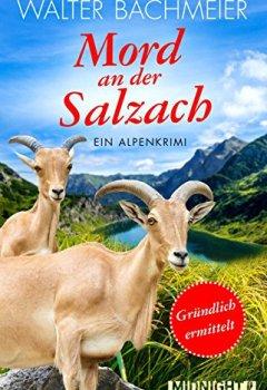 Buchdeckel von Mord an der Salzach: Ein Alpenkrimi (Ein-Tina-Gründlich-Krimi 2)