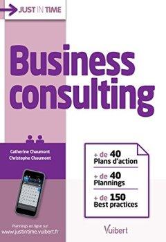 Livres Couvertures de Business consulting: + de 40 plans d'actions + de 40 plannings + de 150 best practices